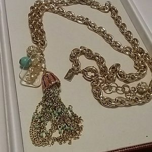 Lilly Pullitzer Sea Horse Necklace Statement